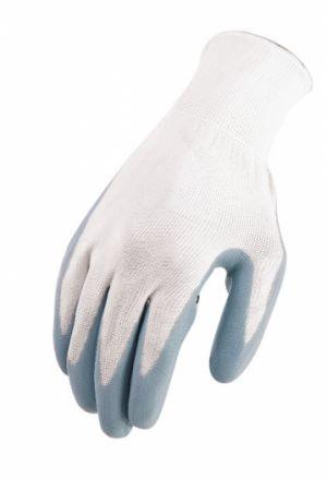 pracovní slabé Bezešvé Rukavice pletené nylon nitrilový povlak.nytrilové pracovní  rukavice norma EN388  43a0f4b37c