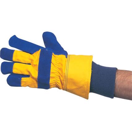 Teplé pracovní rukavice zateplené rukavice do zimy do chladného prostředí  zimní pracovní rukavice ... fefbca15d0