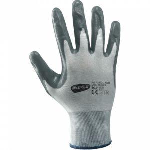 Rukavice bezešvé polyester nitril - dlaň a prsty máčené v nitrilu pro  odolnost vůči oleji d06fa5c346
