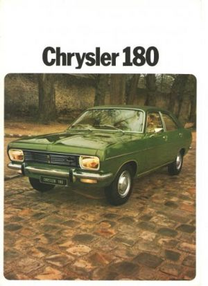 prospekt Chrysler 180r 1973