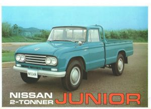 prospekt pic up NISSAN JUNIOR